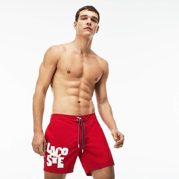 Lacoste Erkek Kırmızı Şort Mayo