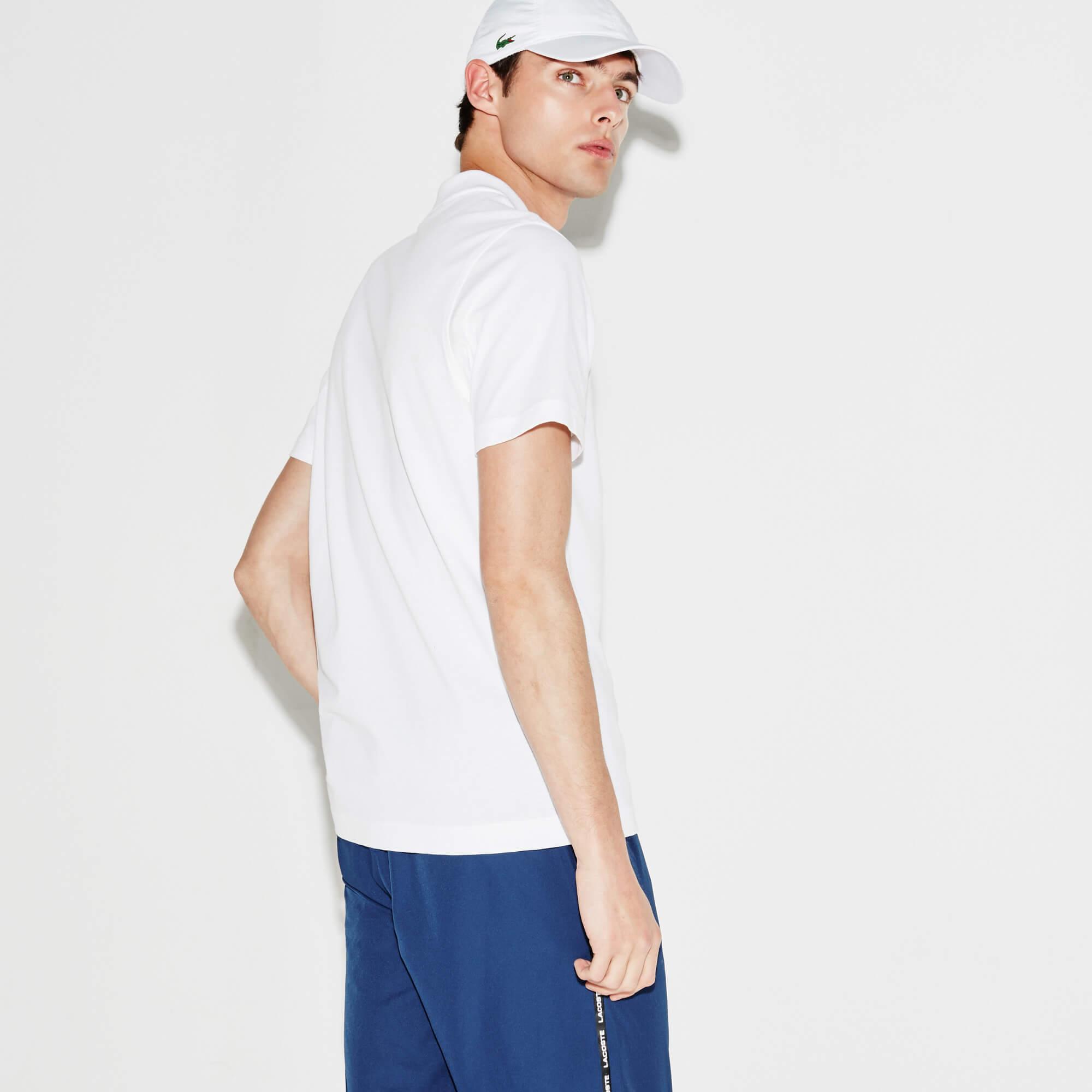 Lacoste Sport Tennis Erkek Regular Fit Beyaz Polo