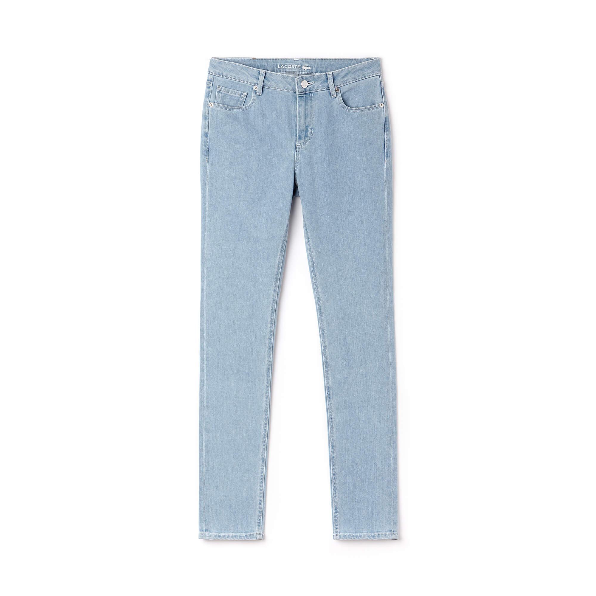 Lacoste Kadın Denim Pantolon