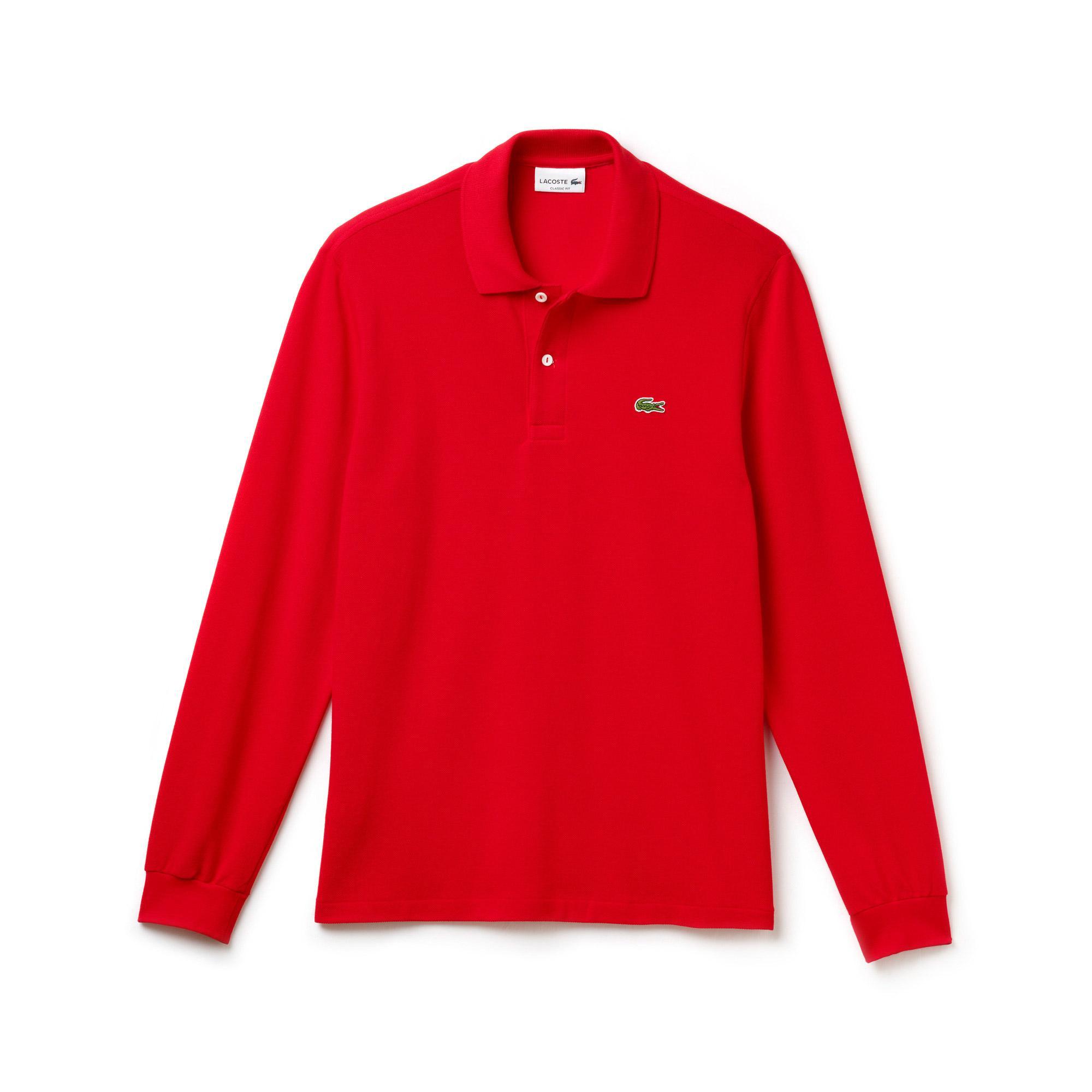 Lacoste Erkek L1312 Kırmızı Polo