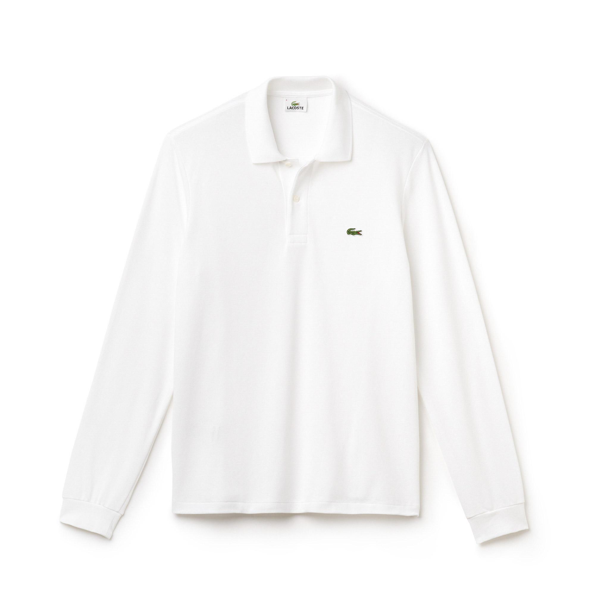 Lacoste Erkek L1312 Beyaz Polo