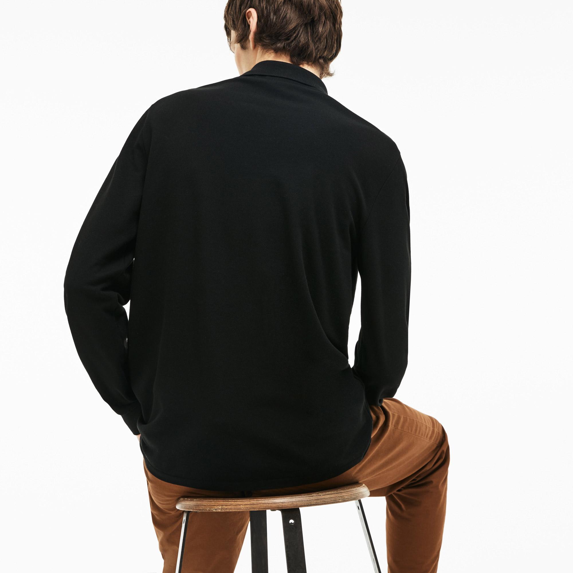 Lacoste Erkek L1312 Siyah Polo
