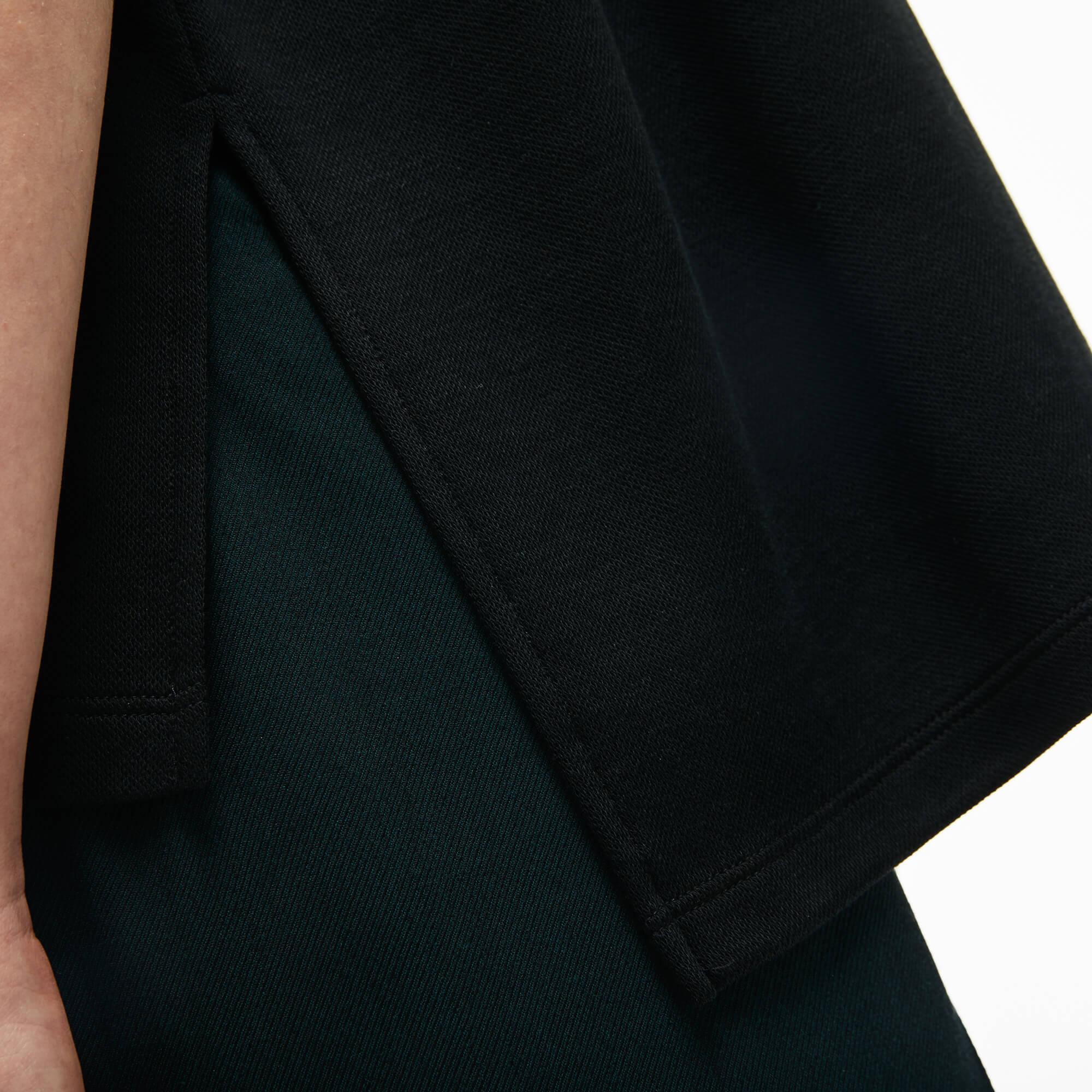 Lacoste Kadın Relax Fit Siyah Polo