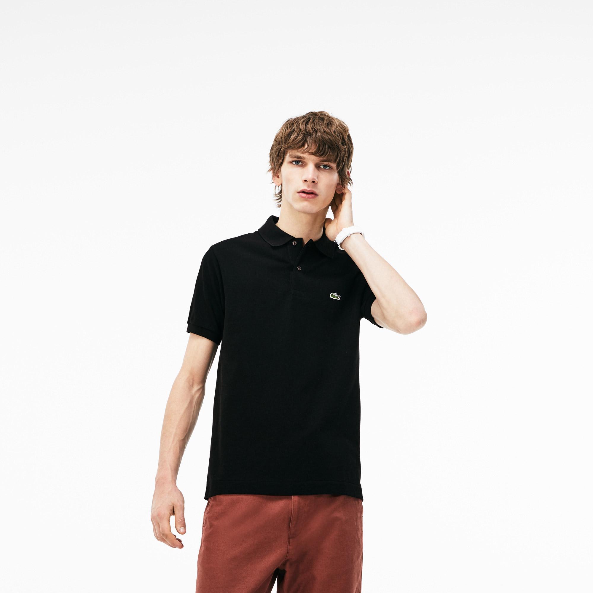 Lacoste Erkek L1212 Siyah Polo