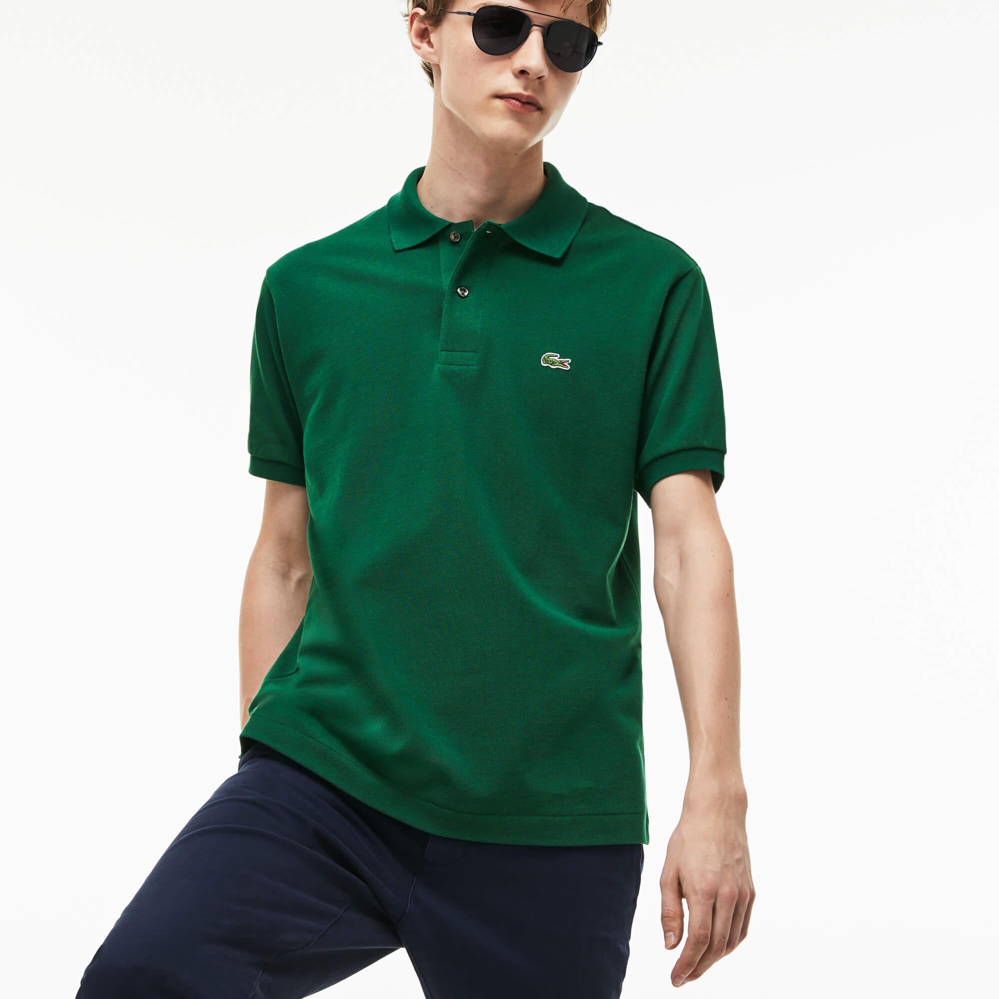 Lacoste Erkek L1212 Yeşil Polo