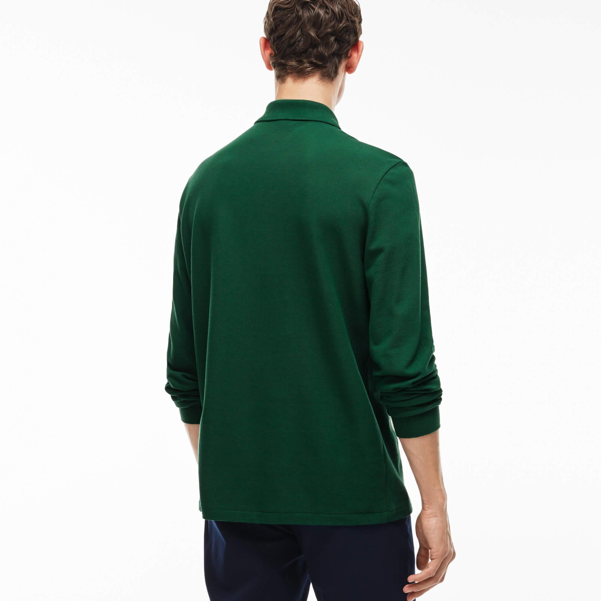 Lacoste Erkek L1312 Yeşil Polo