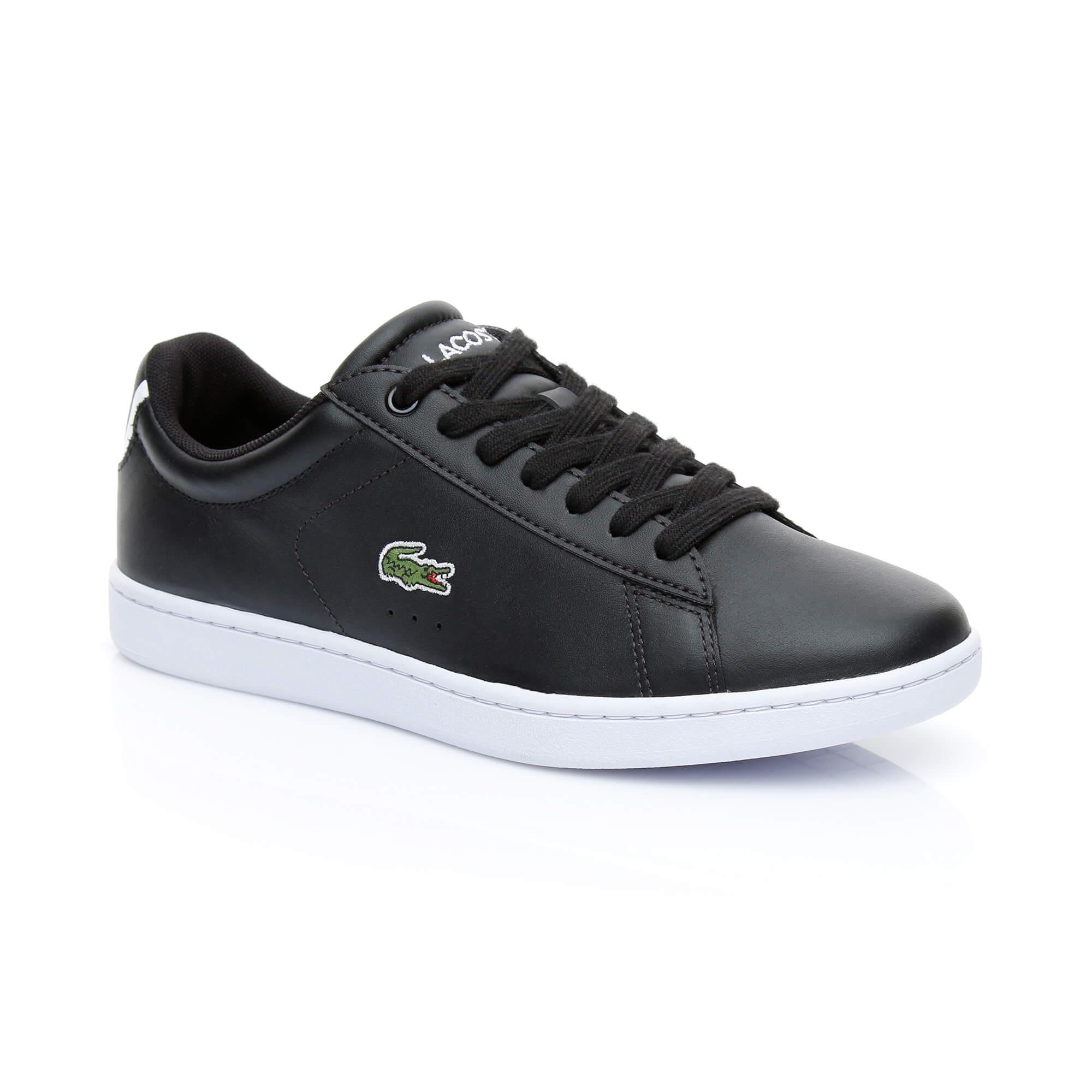 Lacoste Carnaby Evo Bl Kadın Siyah Sneaker Ayakkabı