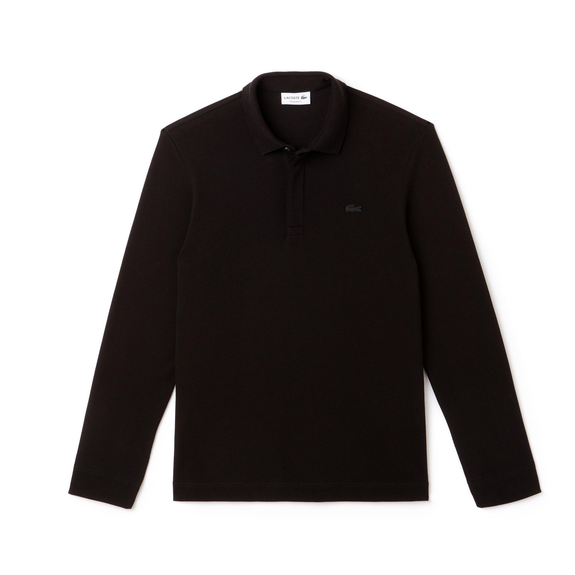 Lacoste Erkek Regular Fit Siyah Paris Polo
