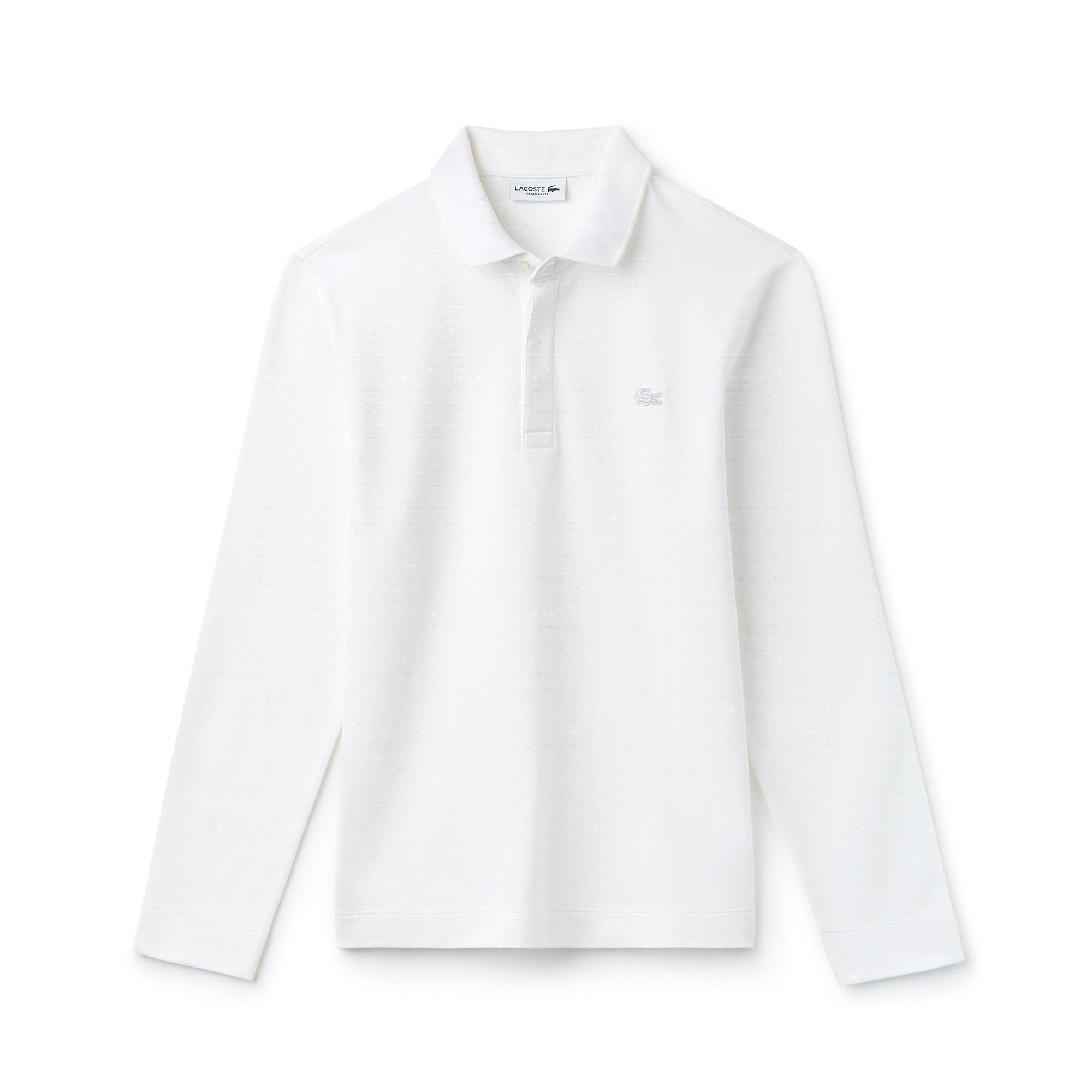 Lacoste Erkek Regular Fit Beyaz Paris Polo