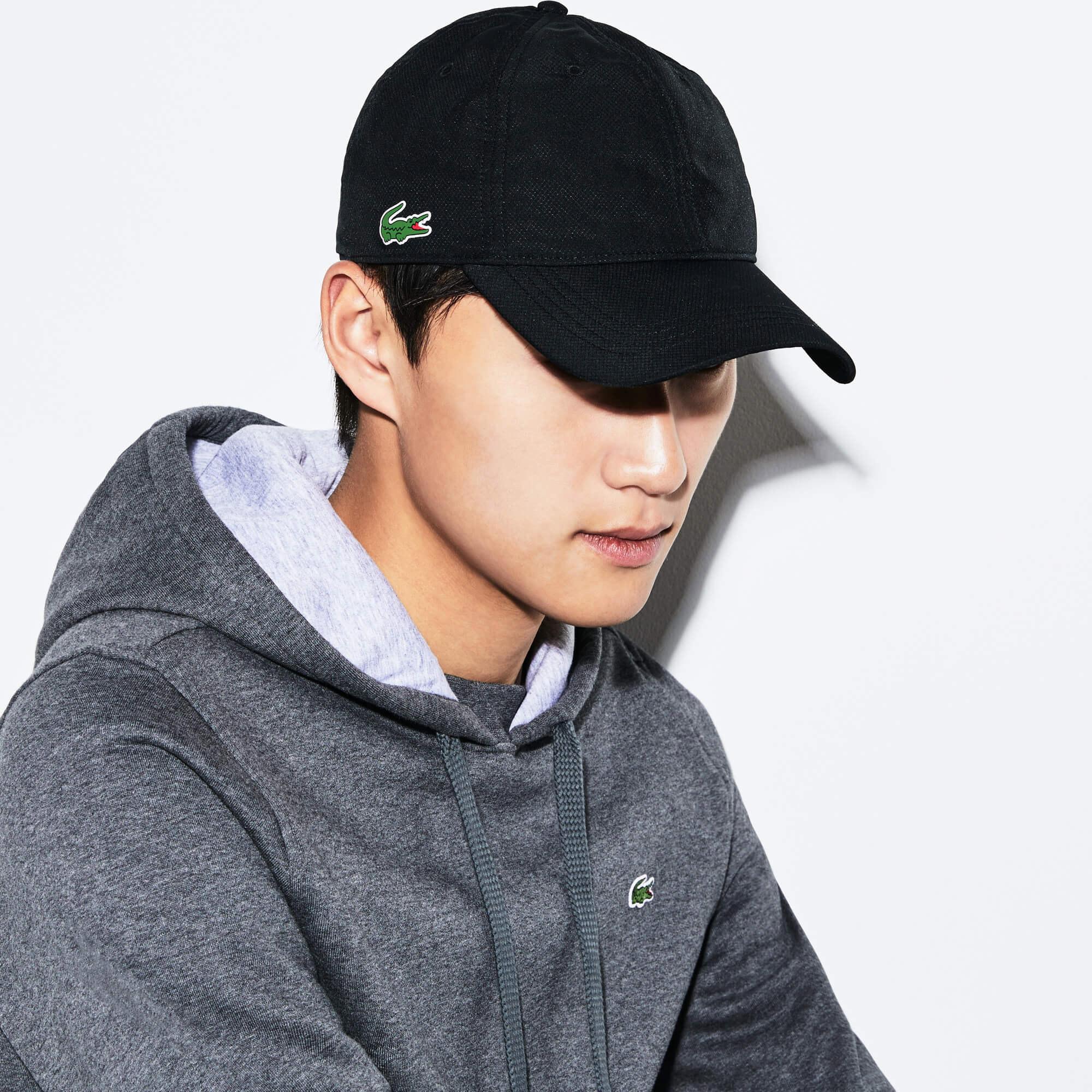 Lacoste Sport Siyah Şapka