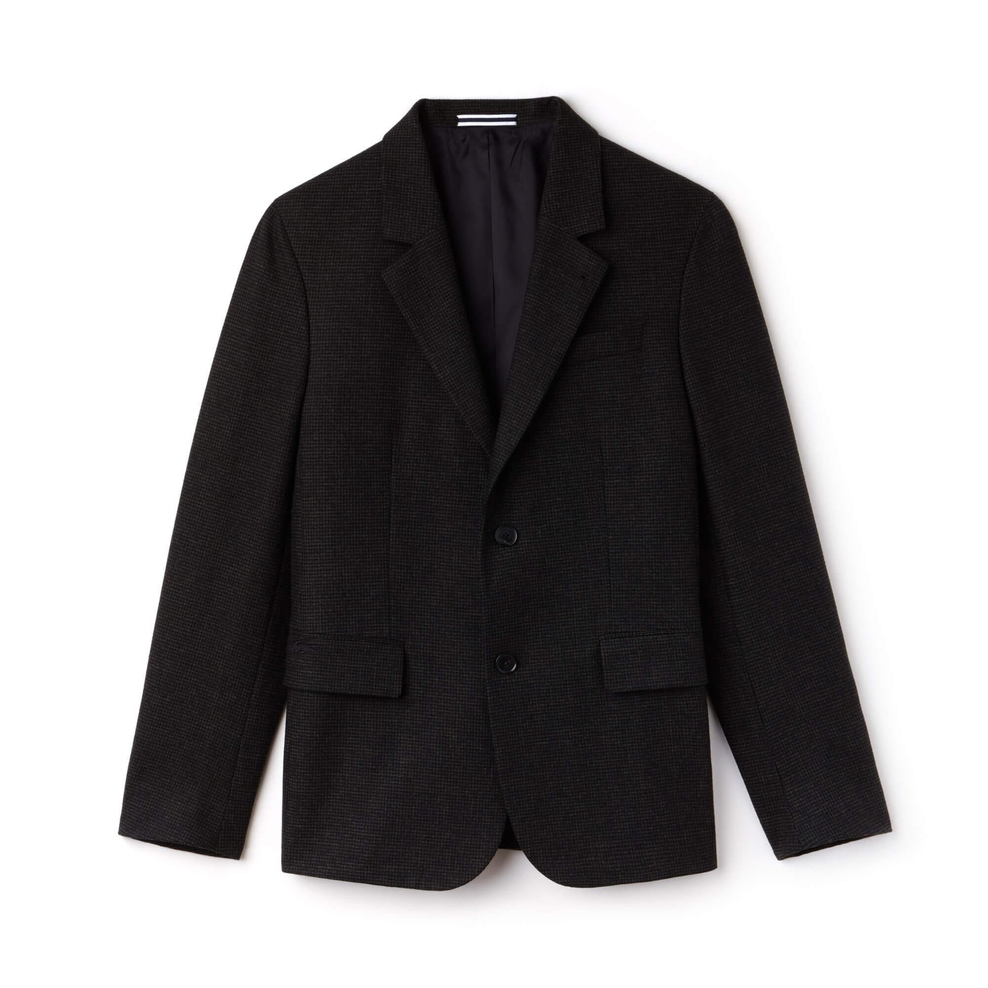 Lacoste Erkek Siyah Ceket