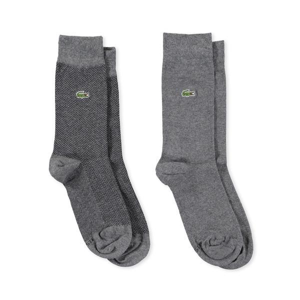 Lacoste Erkek Gri Çorap