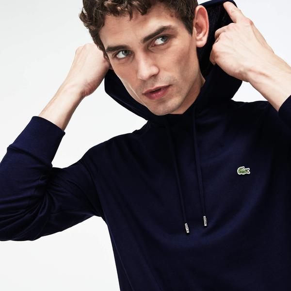 Lacoste Erkek Regular Fit Lacivert Sweatshirt