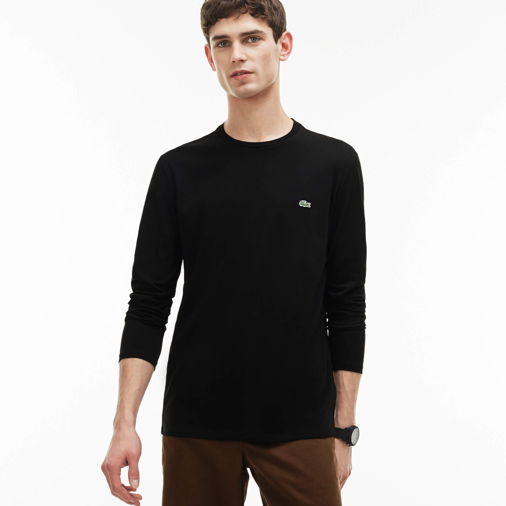 Lacoste Erkek Siyah T-Shirt