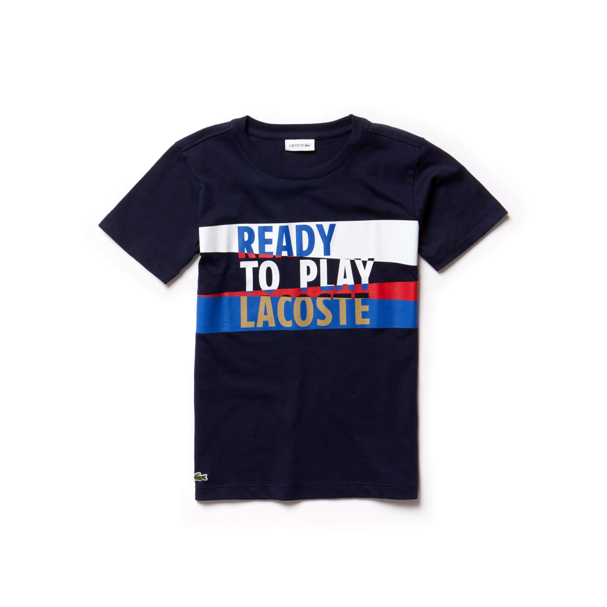 Lacoste Çocuk Lacivert T-Shirt