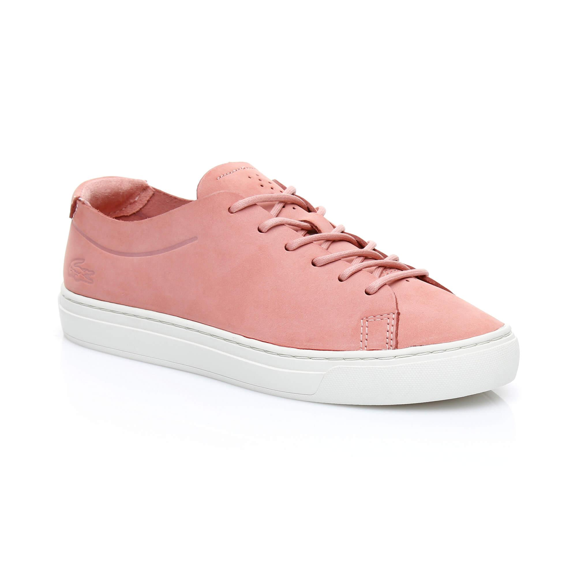 Lacoste Kadın L.12.12 Unlined 318 1 Pembe Sneaker