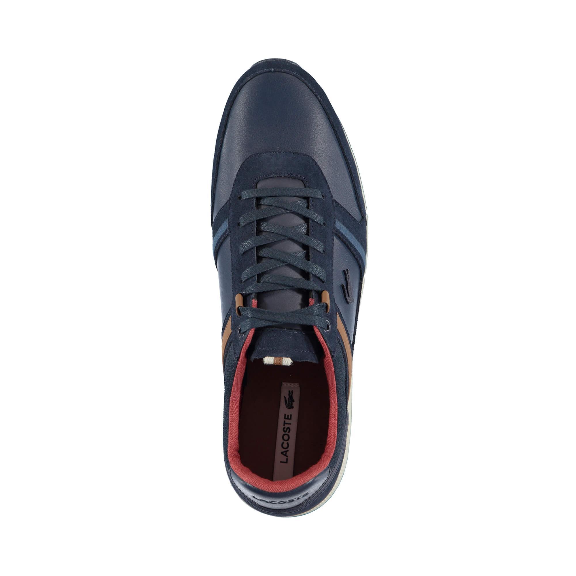 Lacoste Erkek Menerva 318 1 Lacivert Casual Ayakkabı