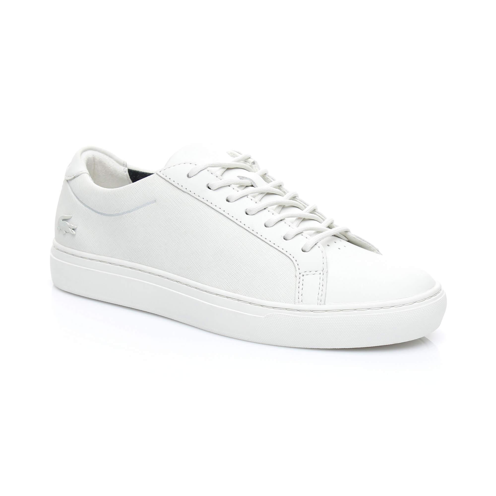 Lacoste Erkek L1212 318 1 Bej Sneaker