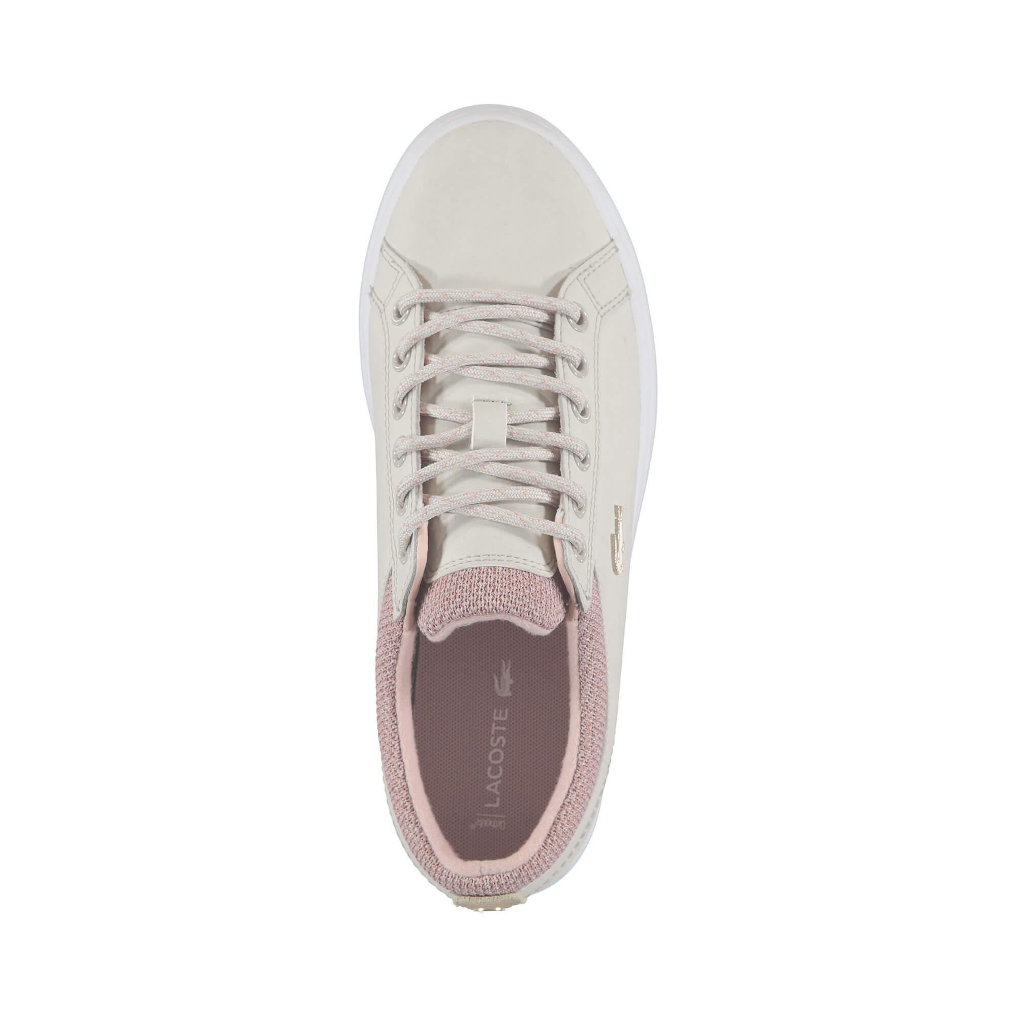 Lacoste Kadın Straightset Insulate 3181 Pembe Sneaker
