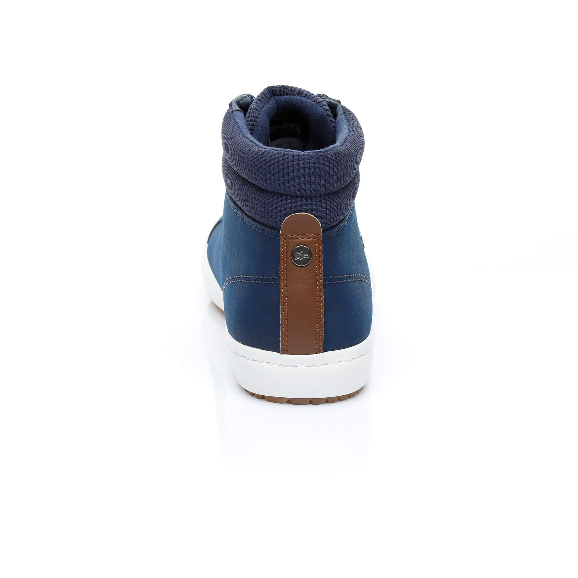 Lacoste Erkek Straightset Insulac 3181 Lacivert Sneaker