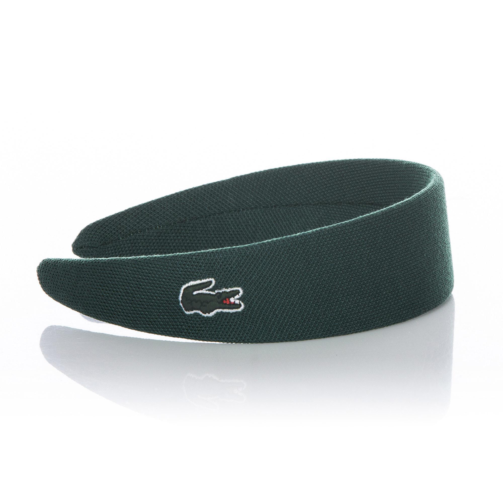 Lacoste Koyu Yeşil Saç Bandı