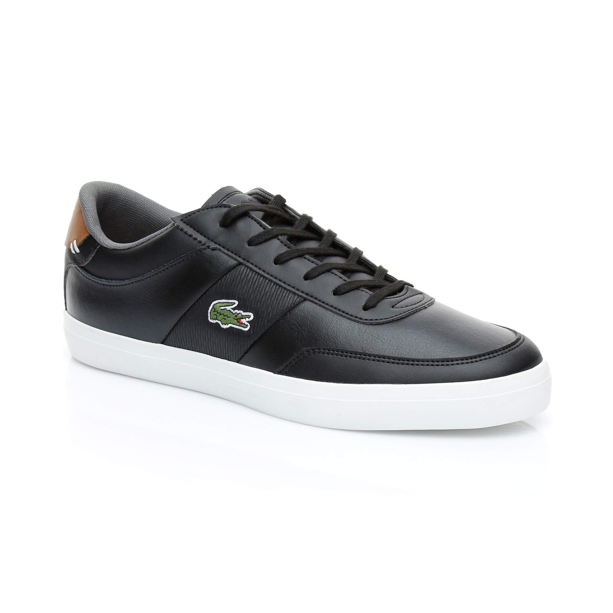 Lacoste Erkek Court-Master 318 2 Siyah Sneaker