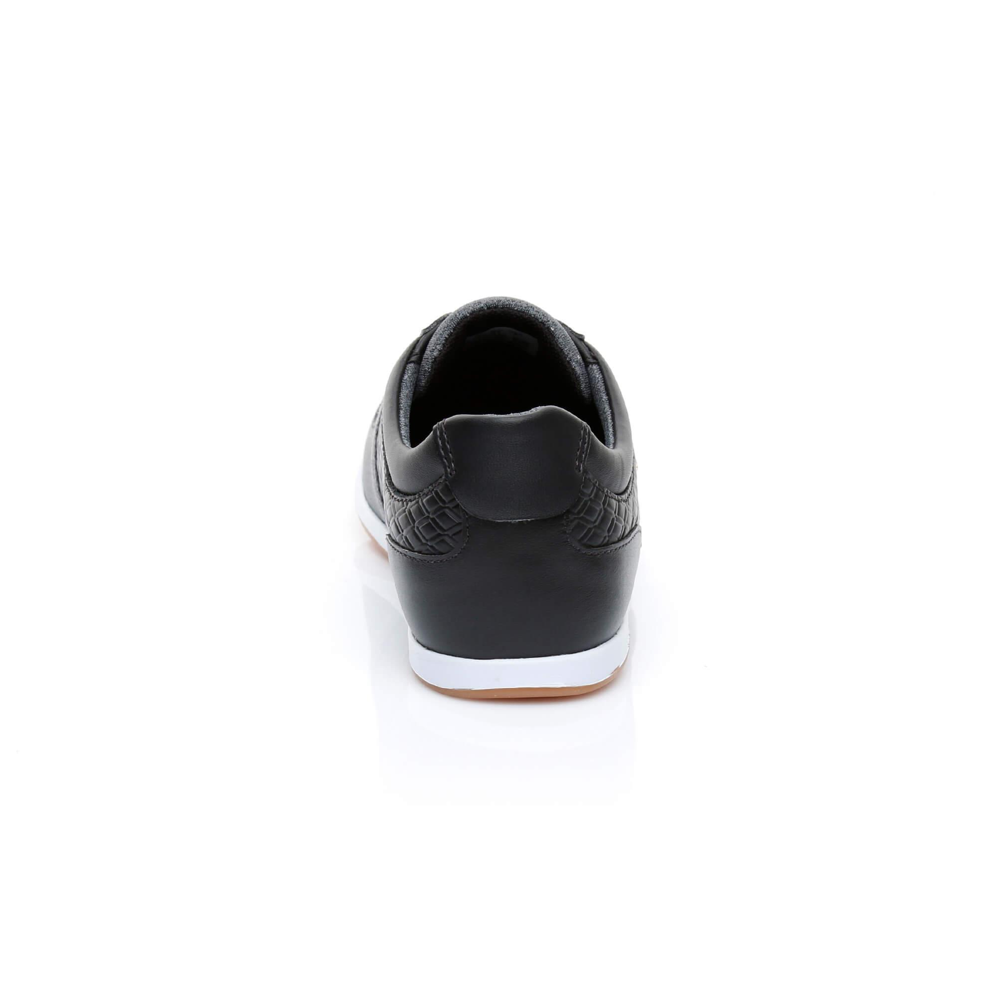 Lacoste Kadın Rey Slip 318 1 Siyah Sneaker