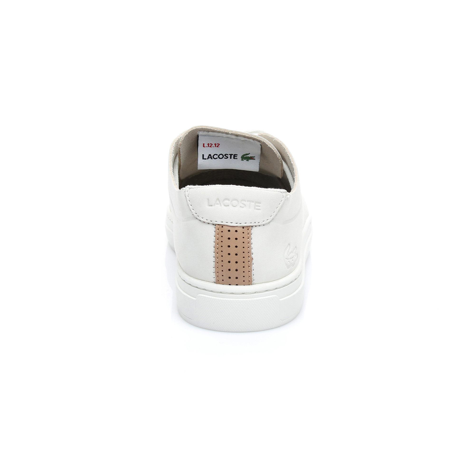 Lacoste Kadın L.12.12 Unlined 318 1 Bej Sneaker
