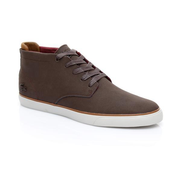 Lacoste Erkek Esparre Chukka 318 1 Kahverengi Ayakkabı