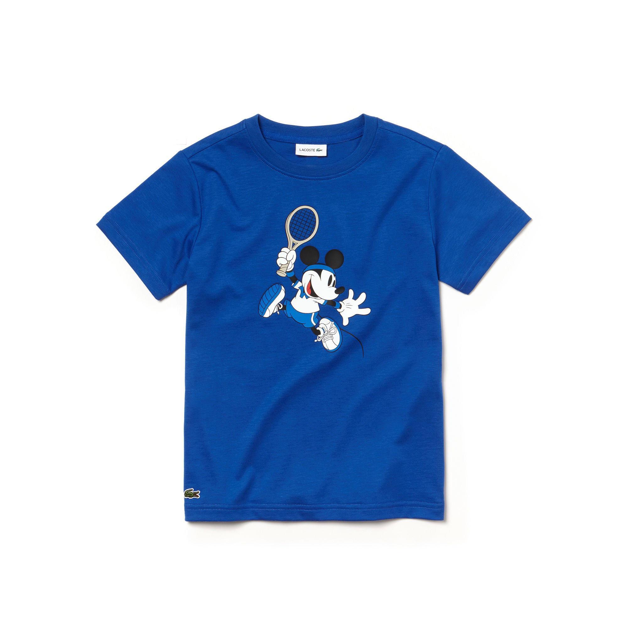 Lacoste Çocuk Saks T-Shirt