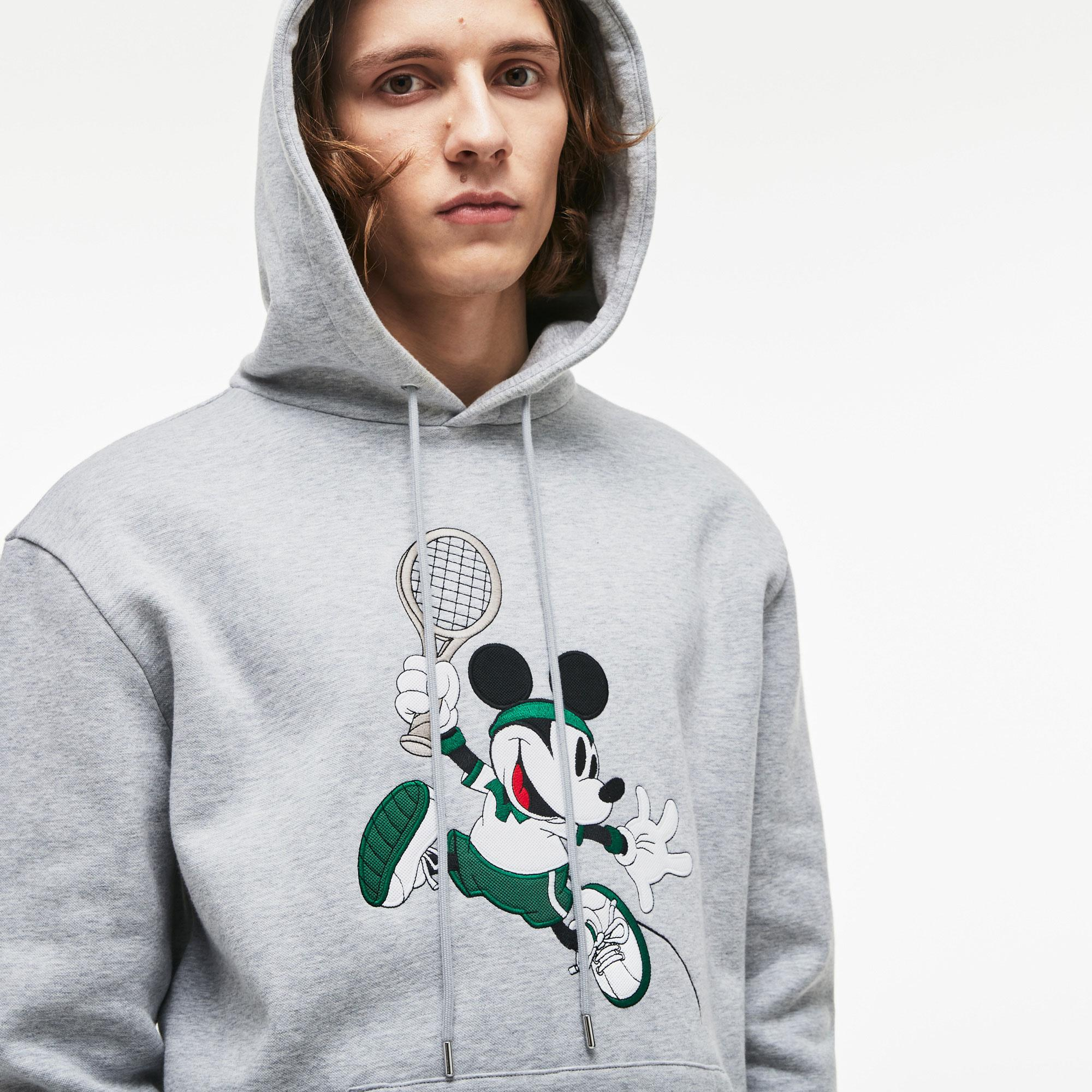 Lacoste Erkek Kapüşonlu Sweatshirt