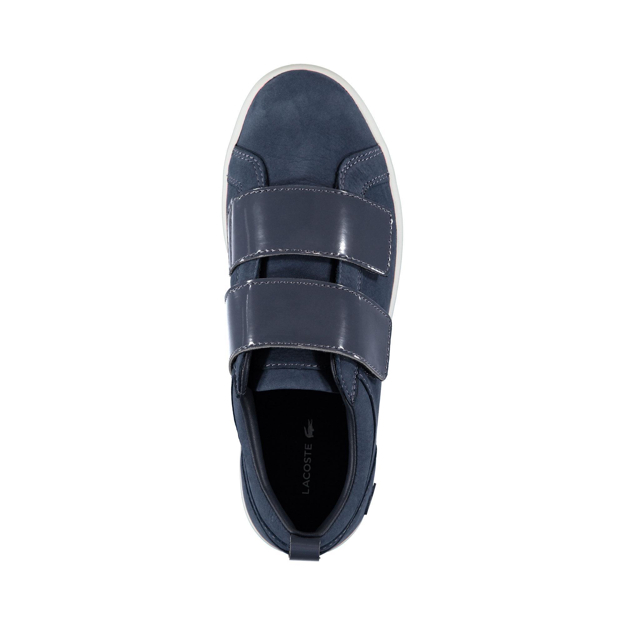 Lacoste Kadın Straightset Strap 3181 Mavi Sneaker