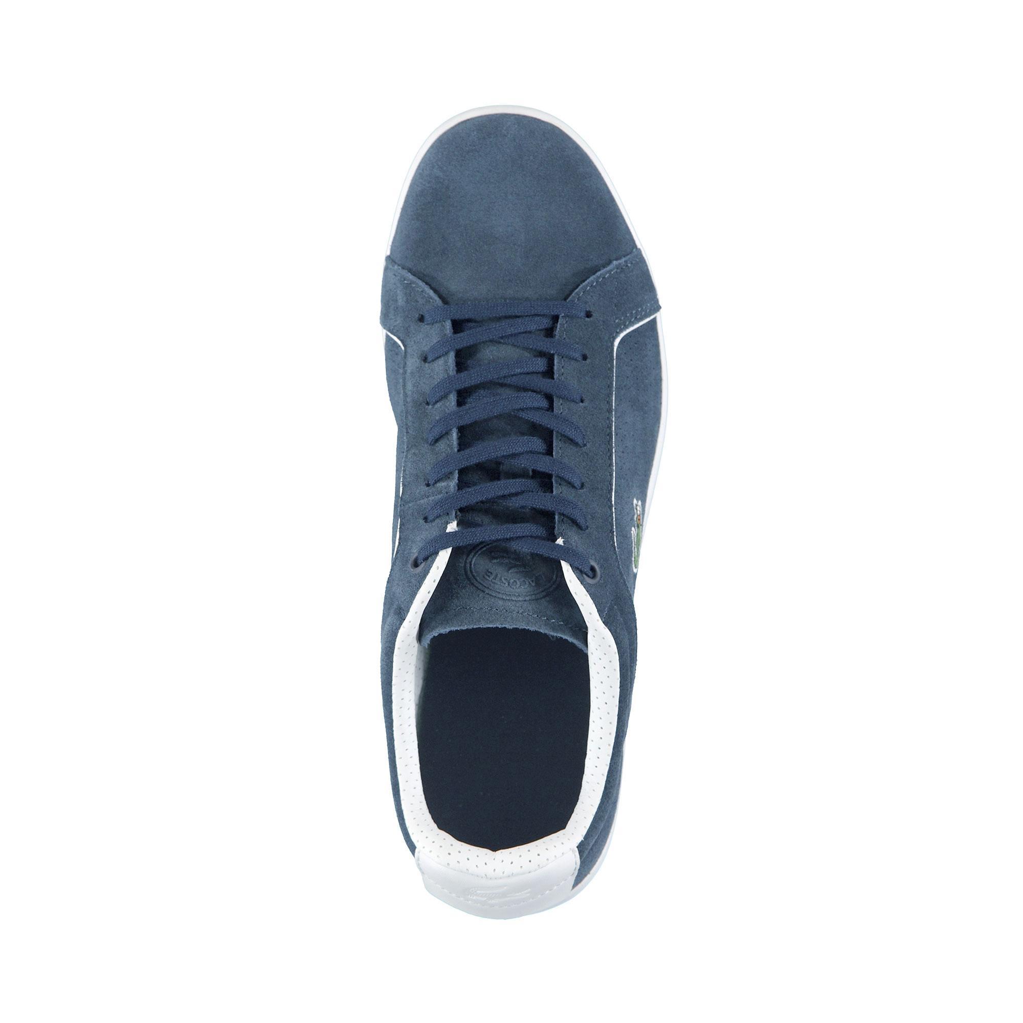 Lacoste Erkek Carnaby Evo 318 9 Lacivert Sneaker