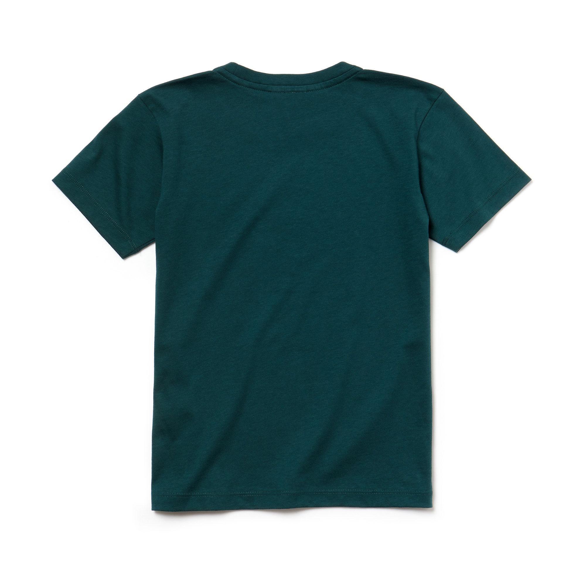 Lacoste Çocuk Koyu Yeşil T-Shirt