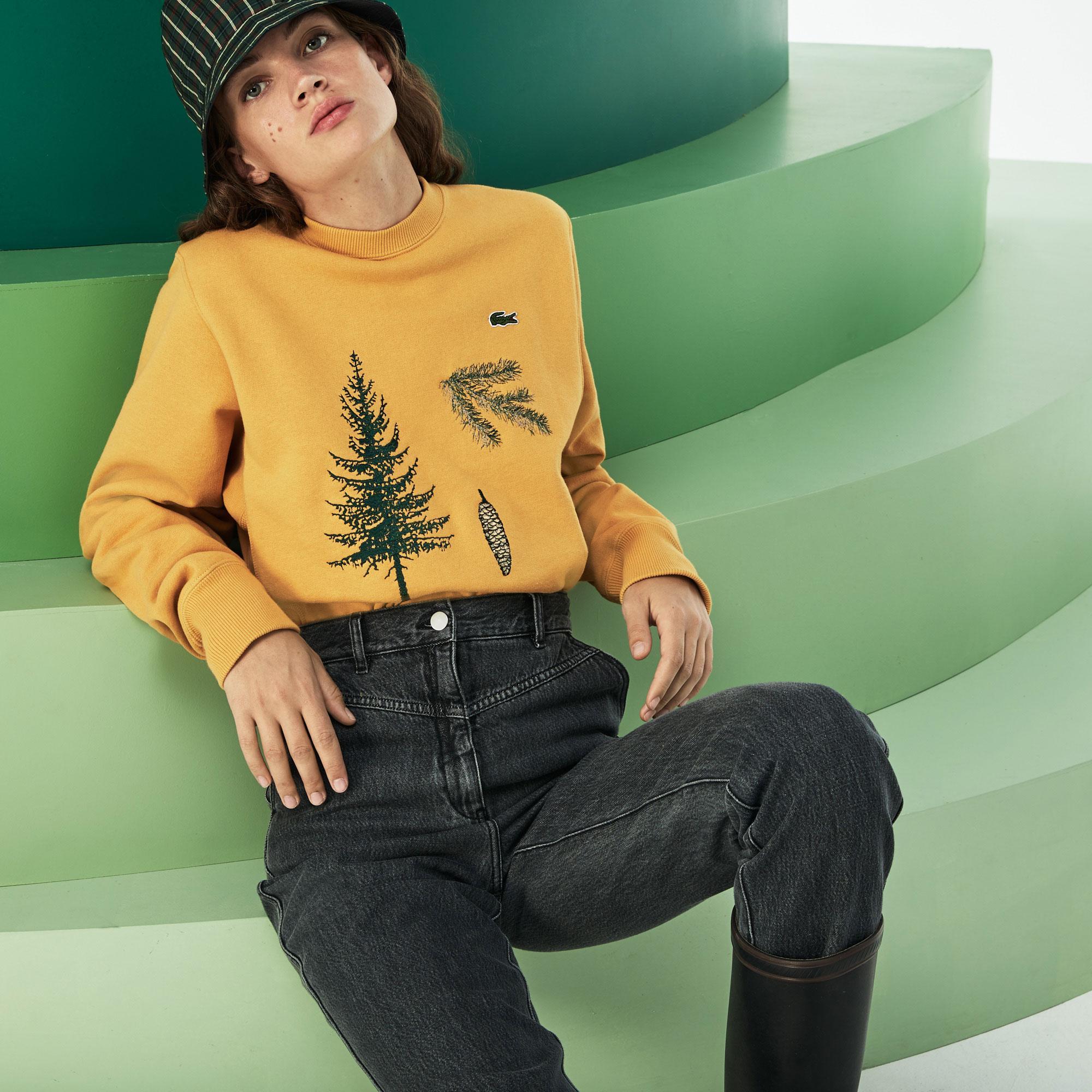 Lacoste Fashion Show Erkek Bej Sweatshirt