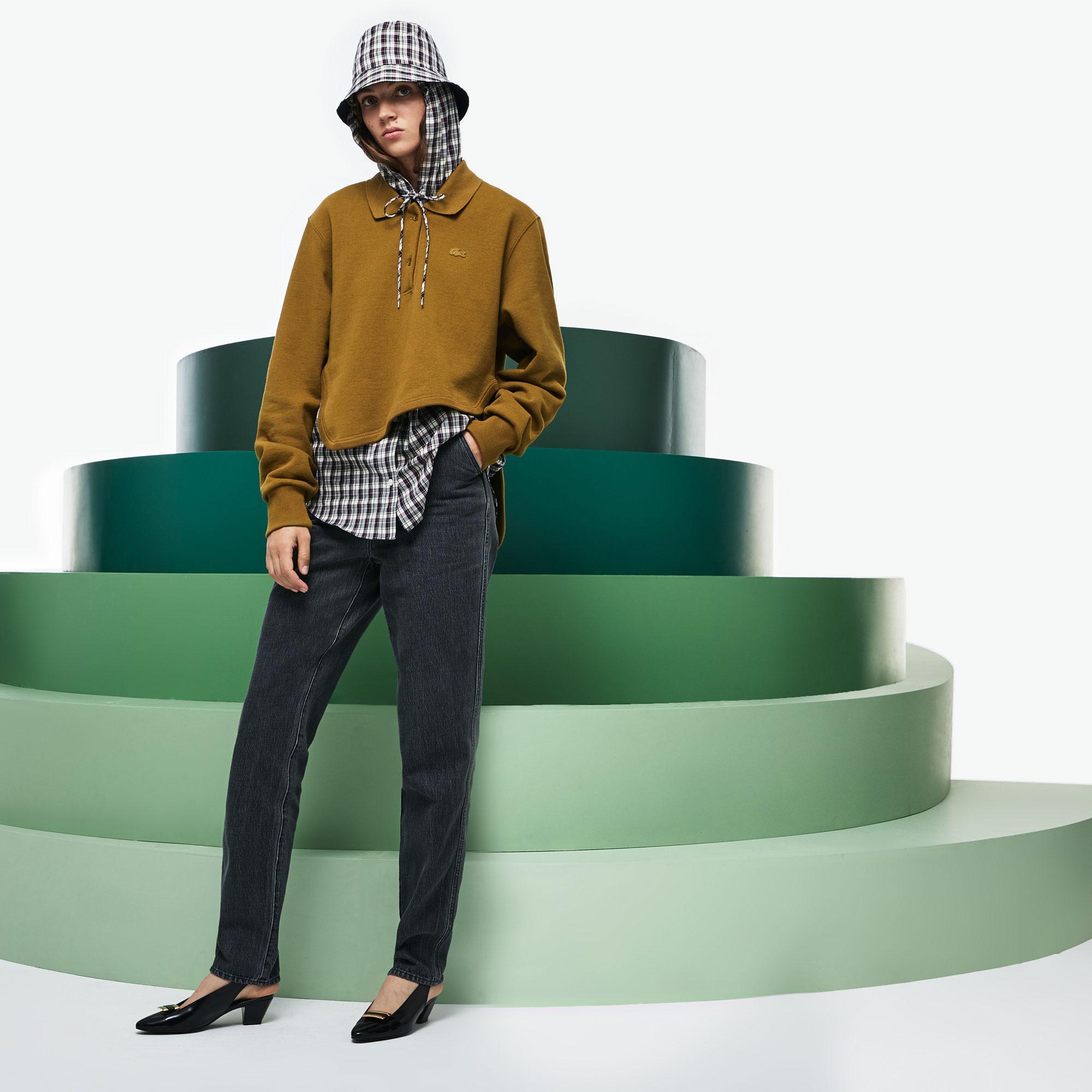 Lacoste Fashion Show Kadın Açık Kahverengi Polo