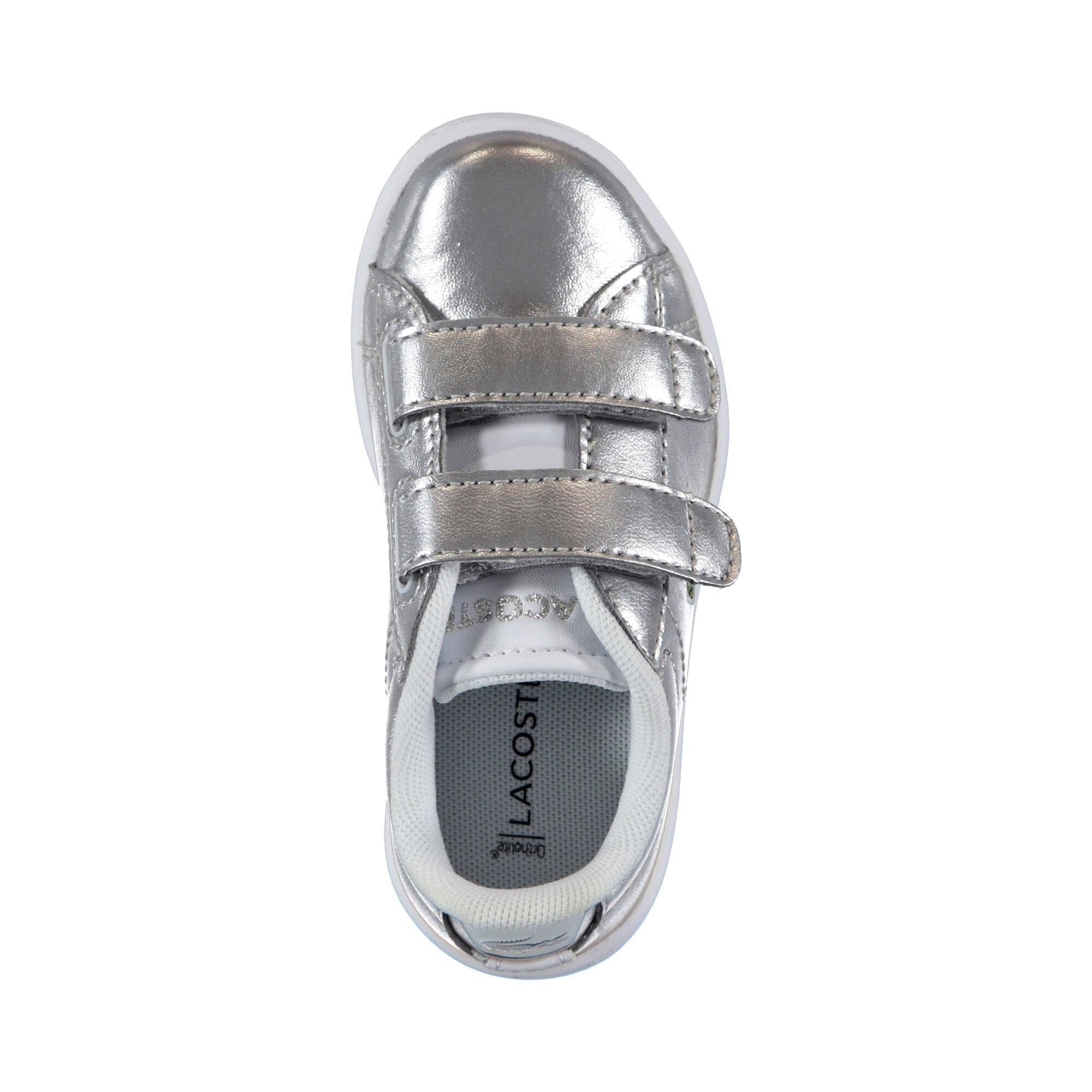 Lacoste Kız Çocuk Carnaby Evo 318 2 Gümüş Sneaker