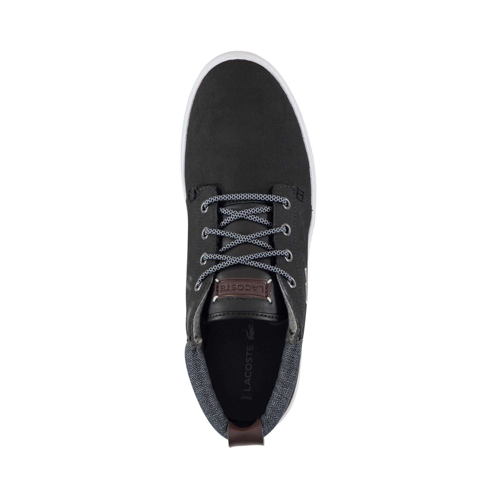 Lacoste Erkek Ampthill Terra 318 1 Siyah Ayakkabı