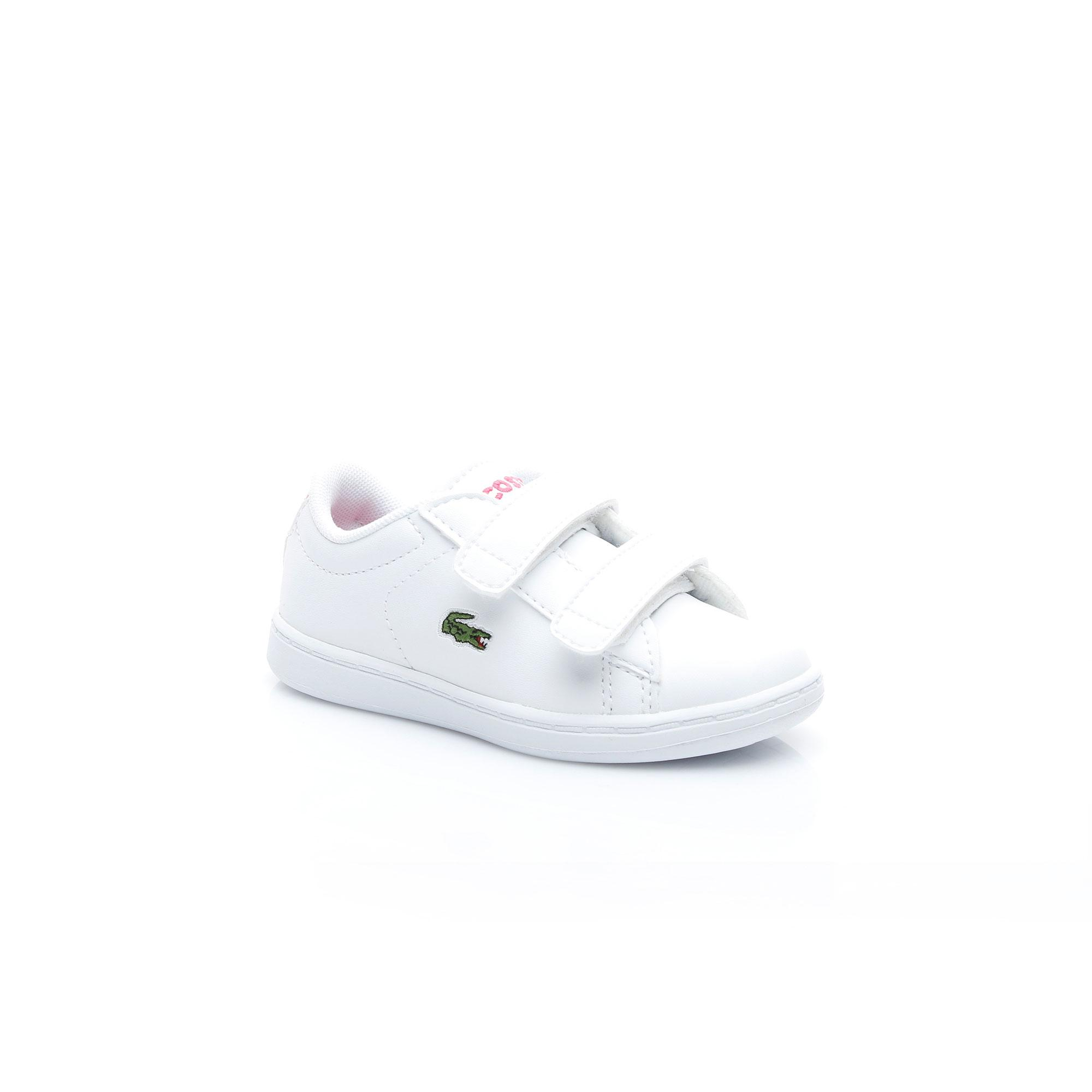 Lacoste Kız Çocuk Carnaby Evo BL 1 Beyaz Sneaker