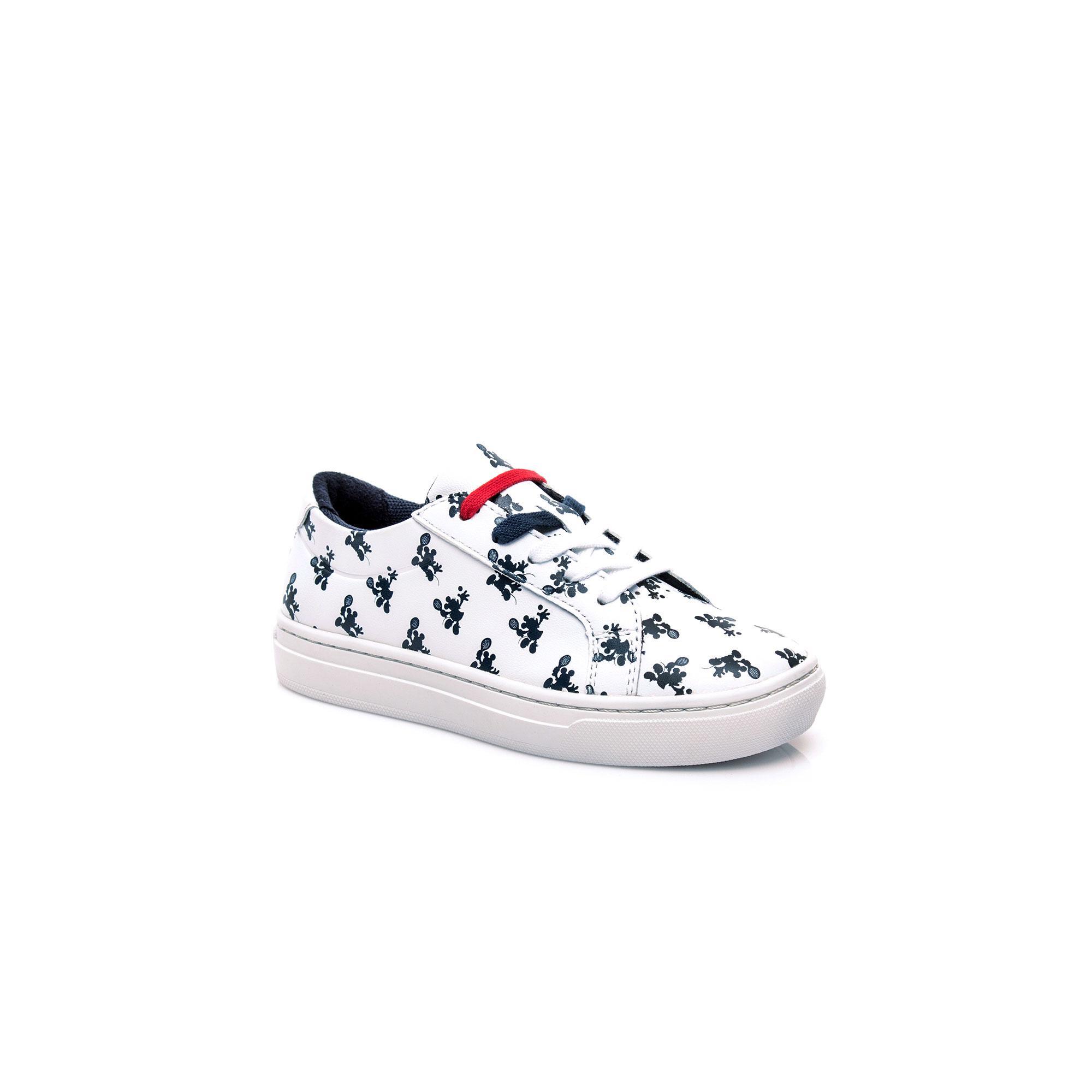 Lacoste Çocuk L.12.12 418 1 Disney Cac Beyaz Sneaker