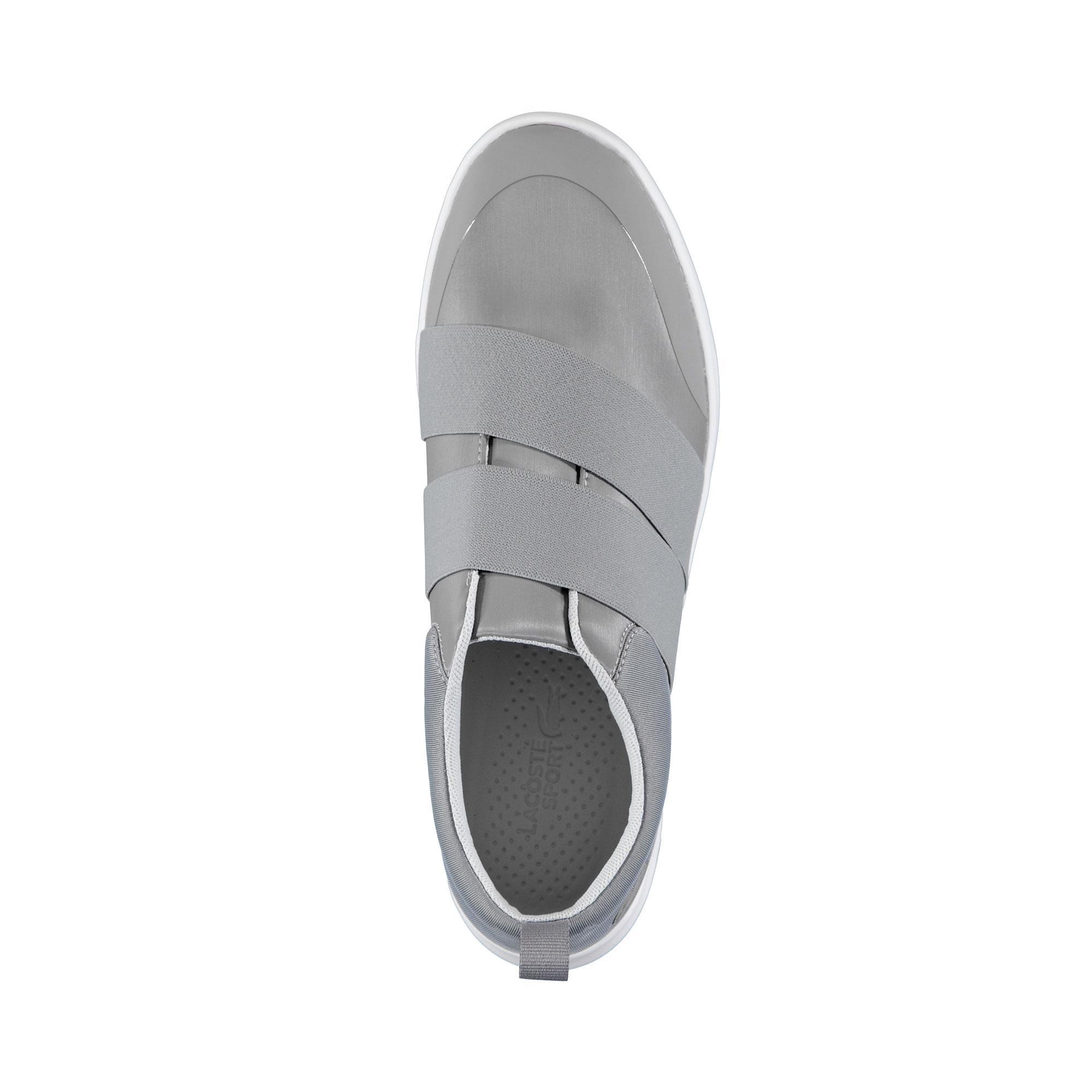 Lacoste Kadın Avenir Slip 418 1 Gri Sneaker