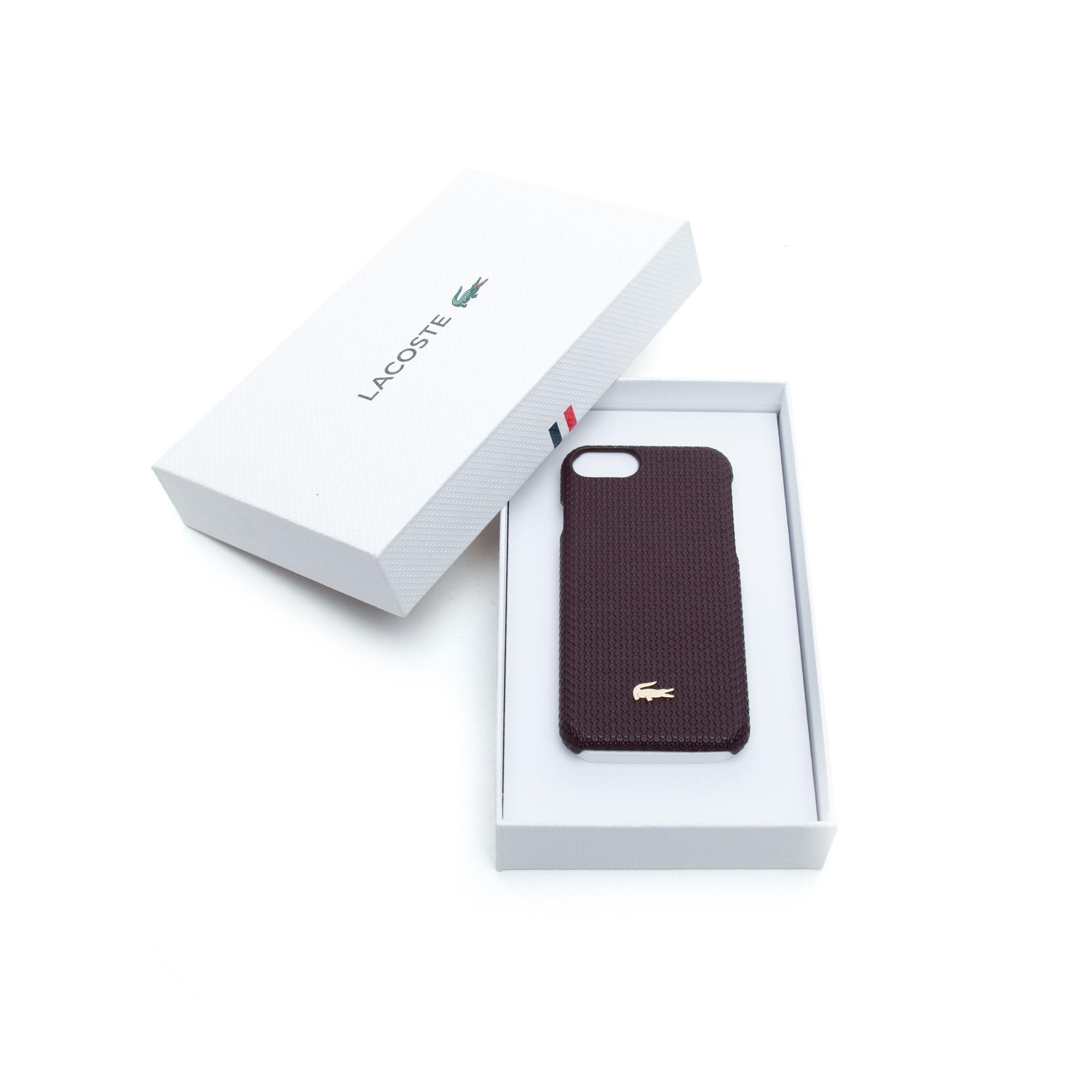 Lacoste Unisex Bordo Iphone 8 Kılıfı