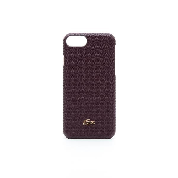 Lacoste Unisex Bordo Iphone 8 Kılıfı