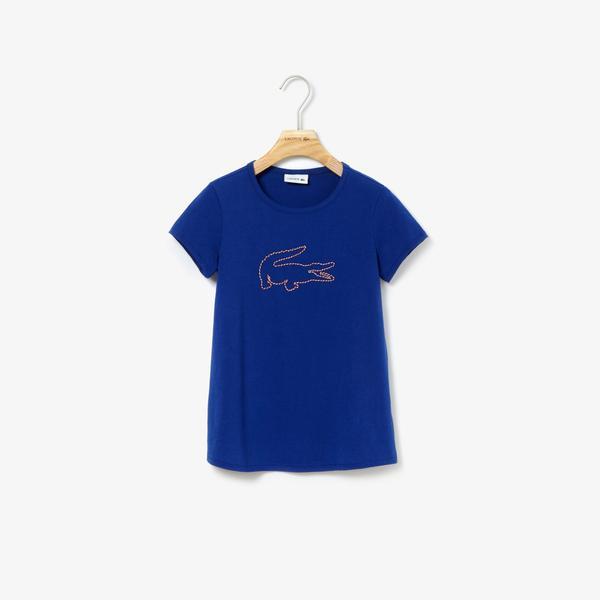 Lacoste Çocuk Mavi T-Shirt