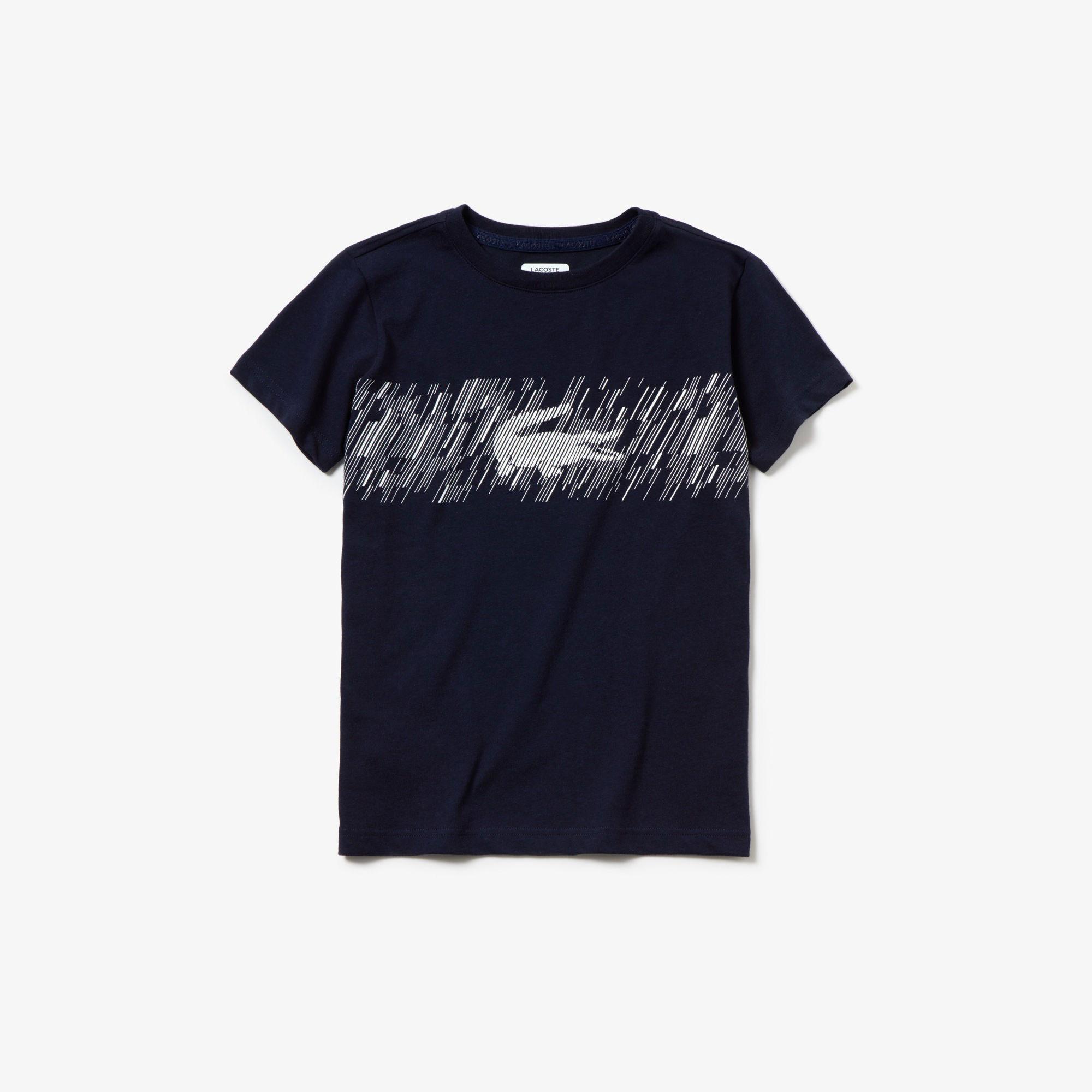 Lacoste Sport Çocuk Lacivert T-Shirt