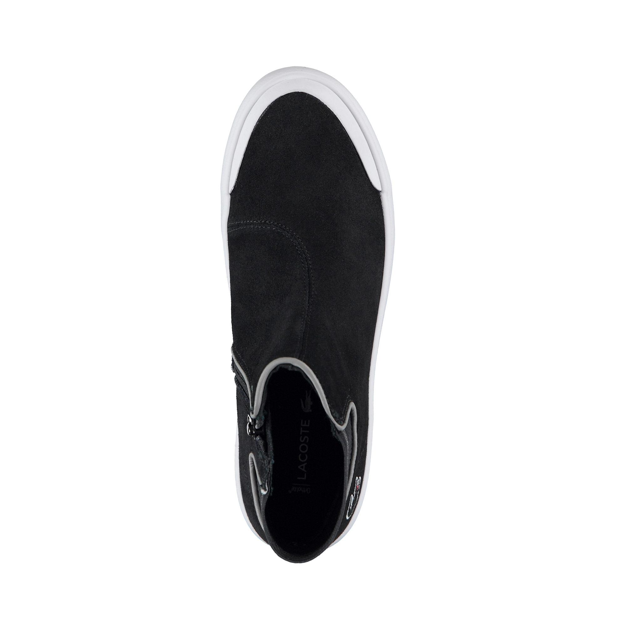 Lacoste Kadın Lancelle Chelsea 318 2 Siyah Ayakkabı
