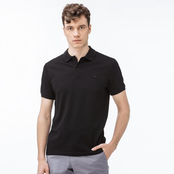 Lacoste Erkek Regular Fit Siyah Polo