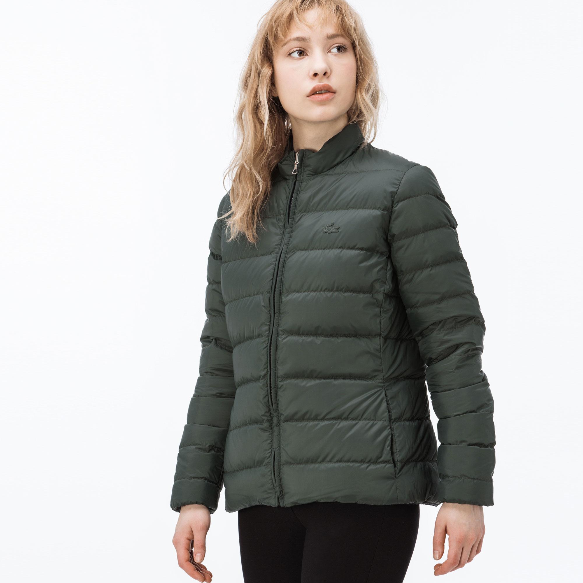 Lacoste Kadın Lacivert-Yeşil Mont