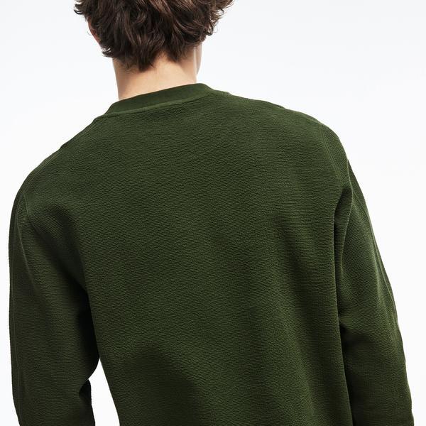 Lacoste Erkek Haki Sweatshirt