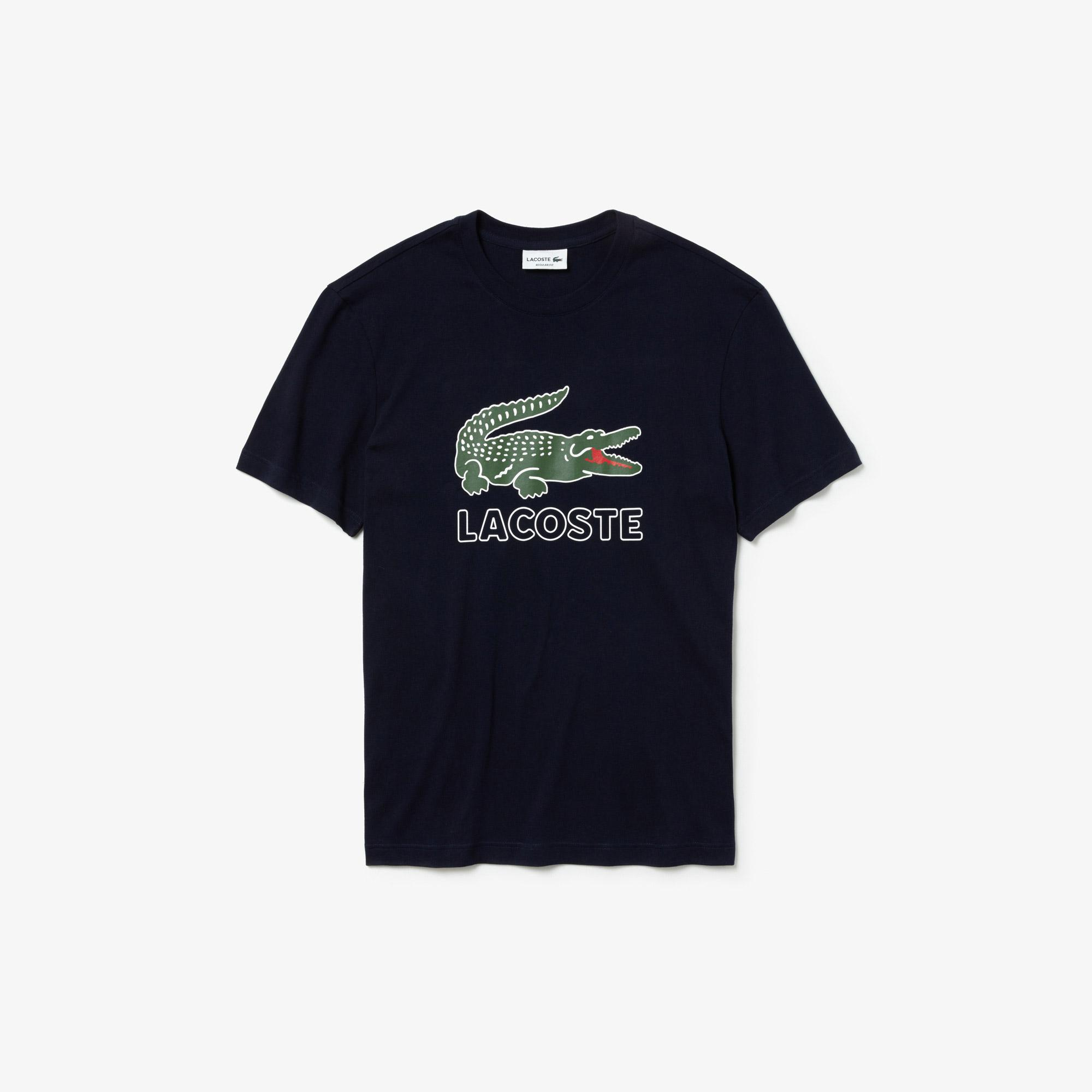 Lacoste Erkek Regular Fit Lacivert T-Shirt